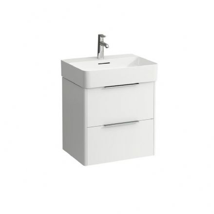 810282 - Laufen Val 550mm x 420mm Washbasin & Base Vanity Unit - 8.1028.2